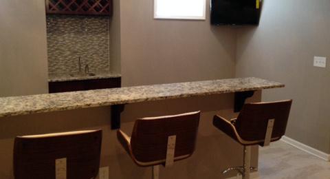 KJs Handyman Construction Service LLC Basement Finishes - Basement finishes