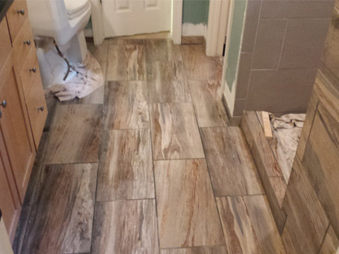 Remodeling Bathroom Floors
